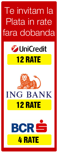 Rate centrale termice BANC POST - BCR - UNICREDIT TIRIAC