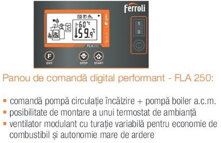 Panou de comandă digital performant - FLA 250: