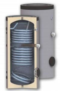 poza Boiler de sol cu dubla serpentina WOODY SON 150 - 150 litri