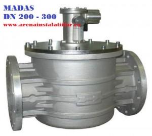 poza Electrovalva de gaz MADAS M16/RM N.A DN 200
