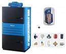 Pachete centrale termice cu gazeificare cu boiler
