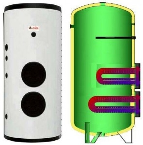 poza Boiler solar cu serpentina extractibila Elbi BF-2 2000