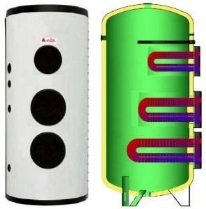 poza Boiler solar cu serpentina extractibila Elbi BF-3 5000