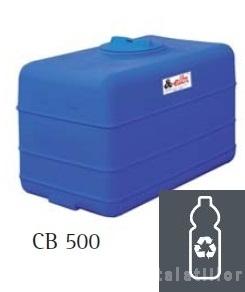 poza Rezervor apa polietilena ELBI CB 500 - rezervor cubic