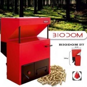 poza Centrale termice pe peleti BIODOM 27 - 30 kW