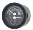 Termomanometru cu capilar CEWAL TI52P 0/120°C 0/6 bar 1/4''