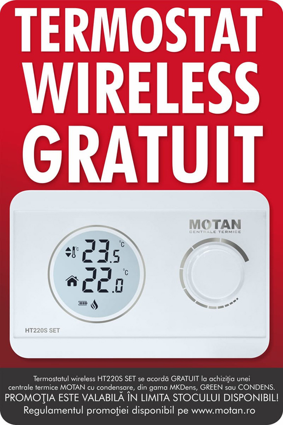Termostat wireless gratuit