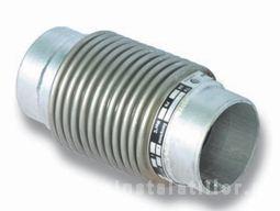 Compensator axial cu capete pentru sudura DN125