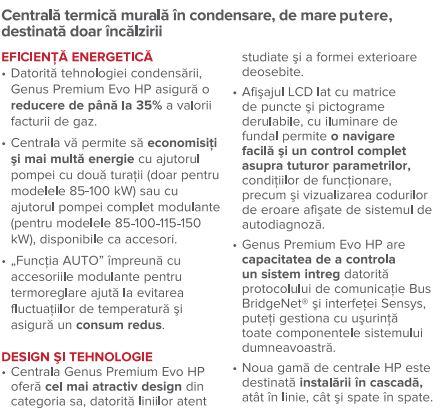 avantaje 1 ARISTON GENUS PREMIUM EVO HP 150 EU