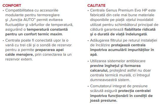 avantaje 2 ARISTON GENUS PREMIUM EVO HP 150 EU