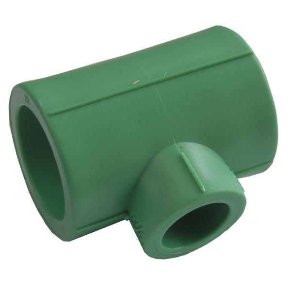 Teu redus PPR verde 32x20x32 Heliroma