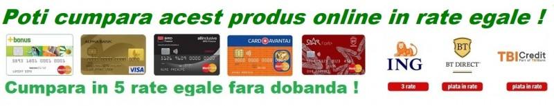 Cum functioneaza plata cu cardul de credit online in rate