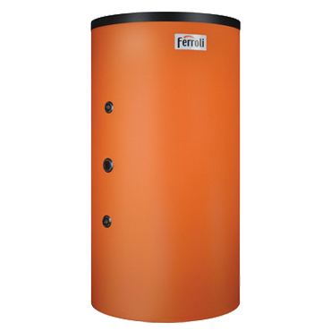 PUFFER TANK-IN-TANK CU 1 SERPENTINA capacitate totala 800 litri, 200 litri acm