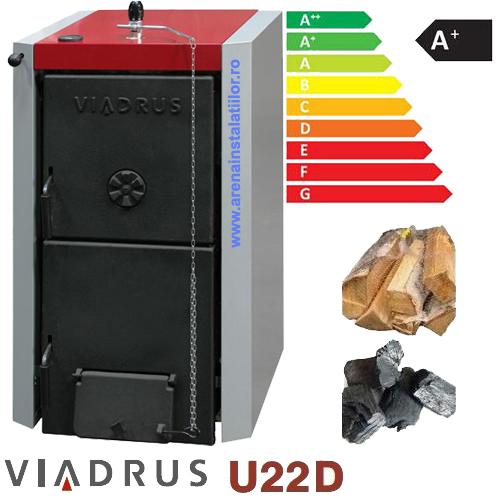 Centrala termica pe lemne Viadrus U22 D7