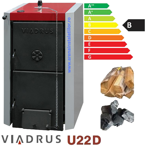 Poza Centrala termica pe lemne Viadrus U22 D9