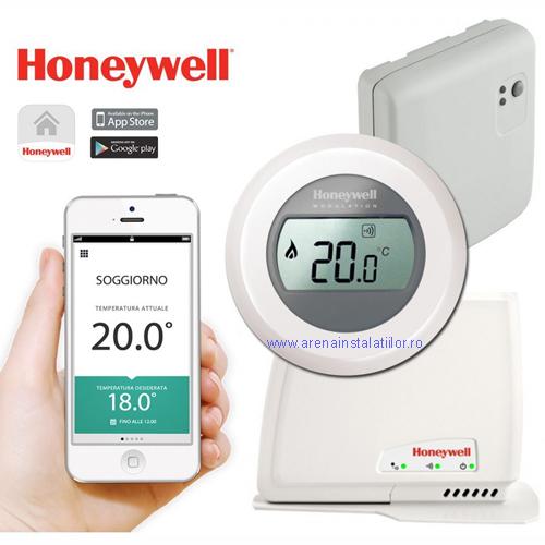 Termostat de ambient WIFI Honeywell Round Y 87 RFC
