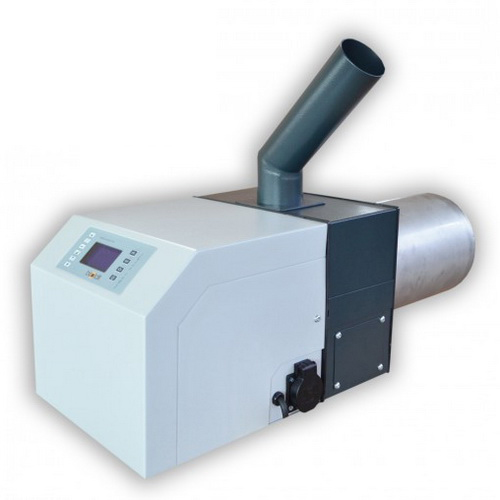 Arzator de peleti cu tub rotativ BISOLID GP 35 R tsc