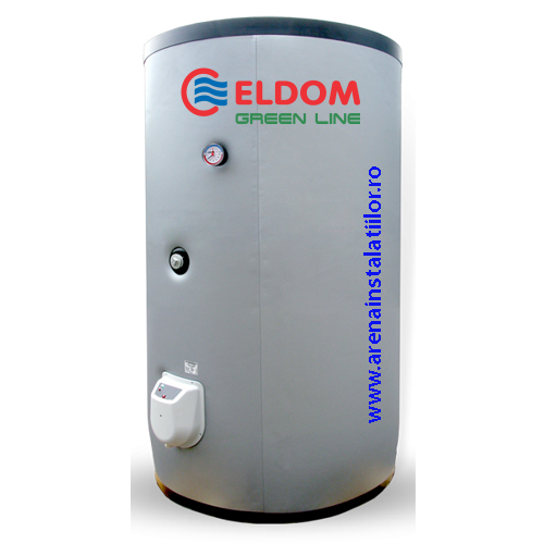 Boiler termoelectric cu o serpentina ELDOM FV75011S - 750 litri
