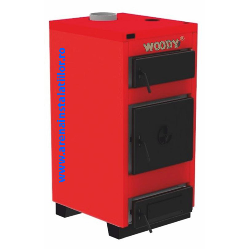 Cazan pe combustibil solid Hoterm Woody Carbon 23 - 23 kW