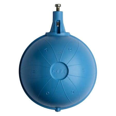SFERA PLASTIC pentru robinetul flotor mecanic Ø 120