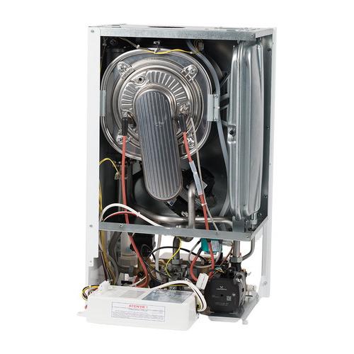 Vedere interioara Centrala termica in condensare MOTAN MKDENS 25 ERP - 25 kW