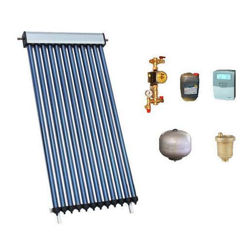 Pachet solar 12 tuburi vidate HEAT PIPE PANOSOL C300 fara boiler