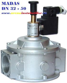 Electrovalva de gaz madas M16/RM N.A 1 1/2