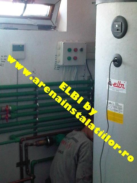 montaj boiler solar elbi bst
