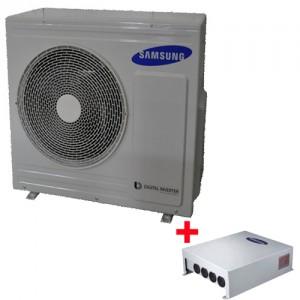 Pachet pompa de caldura monobloc Samsung AE050JXYDEH/EU - 5 kW + controller Samsung MIM-E03BN