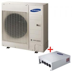 Pachet pompa de caldura AER-APA monobloc Samsung AE090JXYDEH/EU - 9 kW + controller Samsung MIM-E03BN