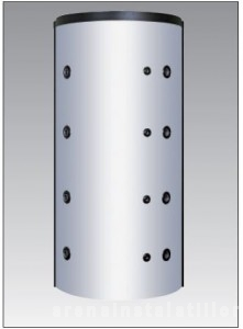 Poza Puffer cu 2 serpentine - acumulator apa calda - Austria Email PSRR 800 - izolatie