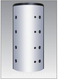 poza Puffer cu 2 serpentine - Acumulator apa calda - PSRR 1500