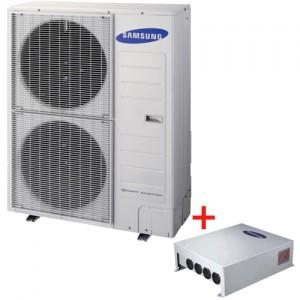 Pachet Pompa de caldura AER-APA monobloc Samsung AE160JXYDEH/EU - 16 kW + controller Samsung MIM-E03BN
