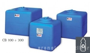 poza Rezervor apa polietilena ELBI CB 200 - rezervor cubic