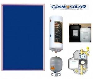 poza Pachet panouri solare Cosmosolar si boiler cu 1 serpentina pentru 2-3 persoane