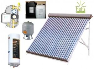 poza Pachet panou solar Helis cu 20 tuburi vidate si boiler 200 litri pentru 3-4 persoane