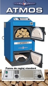 poza Centrale termice pe lemne cu gazeificare Atmos DC25S - 25 kW
