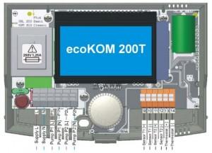 Poza Bornele de conectare ale regulatorului Ferroli ECOKOM 200 T