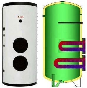 poza Boiler solar cu serpentina extractibila Elbi BF-2 1500