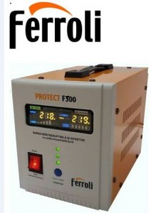poza Stabilizator Ferroli PROTECT F 500 - sursa neintreruptibila si invertor