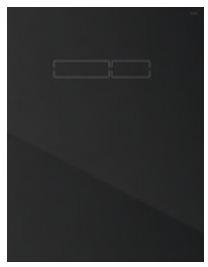 poza Placa superioara TECElux din sticla neagra cu actionare electronica si senzor