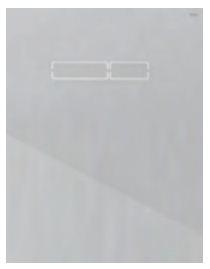 poza Placa superioara TECElux din sticla alba cu actionare electronica si senzor