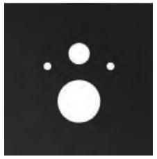 poza Placa inferioara TECElux din sticla neagra pentru vas WC standard