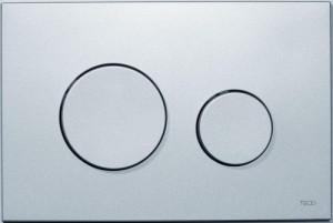poza Clapeta WC TECE loop crom mat din plastic 2 trepte de actionare