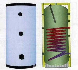 poza Boiler cu serpentina verticala Elbi BSV 1000
