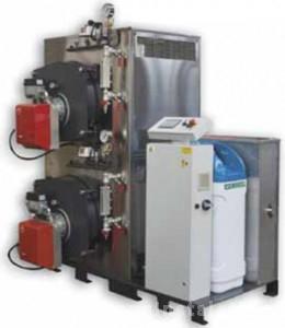 poza Cazan abur inalta presiune FX-DUAL 100 - 100 KG/H - 5 bar