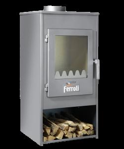 poza Semineu pe lemne  FERROLI PIAVE 7 kW