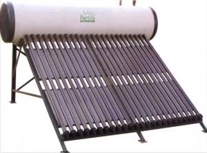 poza Pachet panouri solare cu tuburi vidate Helis JDL-HP 15-58/1.8 + boiler 140 L