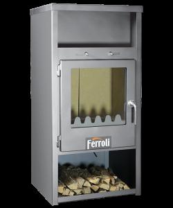 poza Semineu pe lemne FERROLI SALERNO PREMIUM 7,5 kW