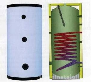 poza Boiler cu serpentina verticala Elbi BSV 200